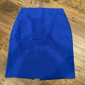 Royal blue size 2 Express skirt